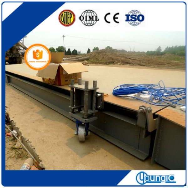 30 ton digital mobile pit mounted weighbridge
