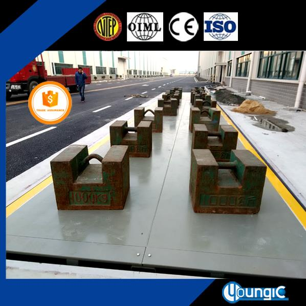 pit type modular weighbridge machine
