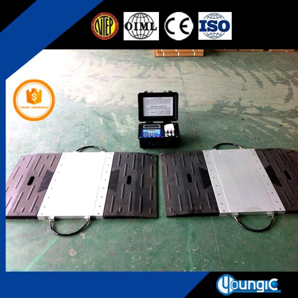 Portable Truck Weight Alxe Scales Weigher