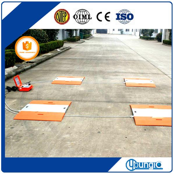 Portable Truck Axle Load Weighing Scales