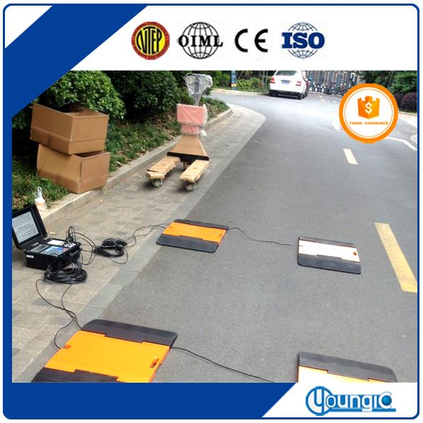 Electronic Static Wheel Road Axle Pad Scales