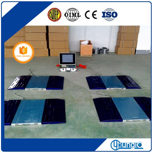 Electronic Truck Wheel Axle Load Weighing Scales