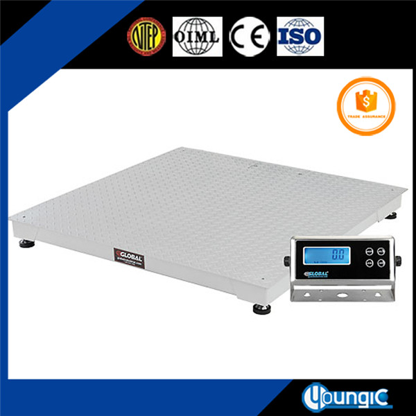 10000 lb floor weighing scale