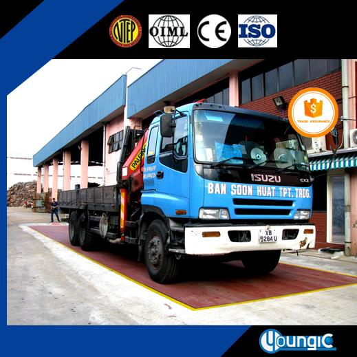 120 Ton China Suppliers Cheap Pitless Truck Weighbridge Scale