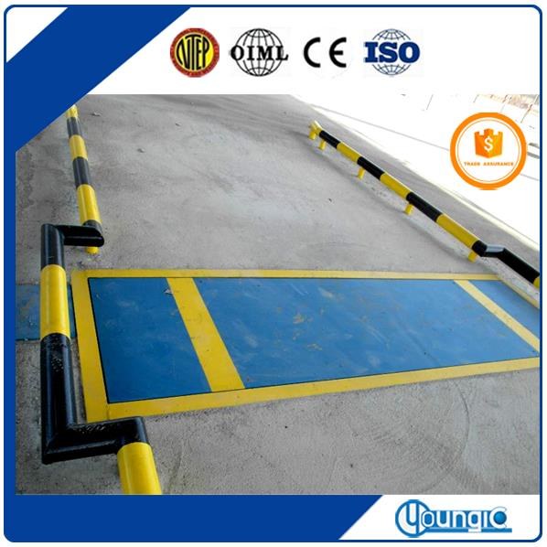 China 100 Ton Electronic Lorry Wheel And Axle Weighing Scale