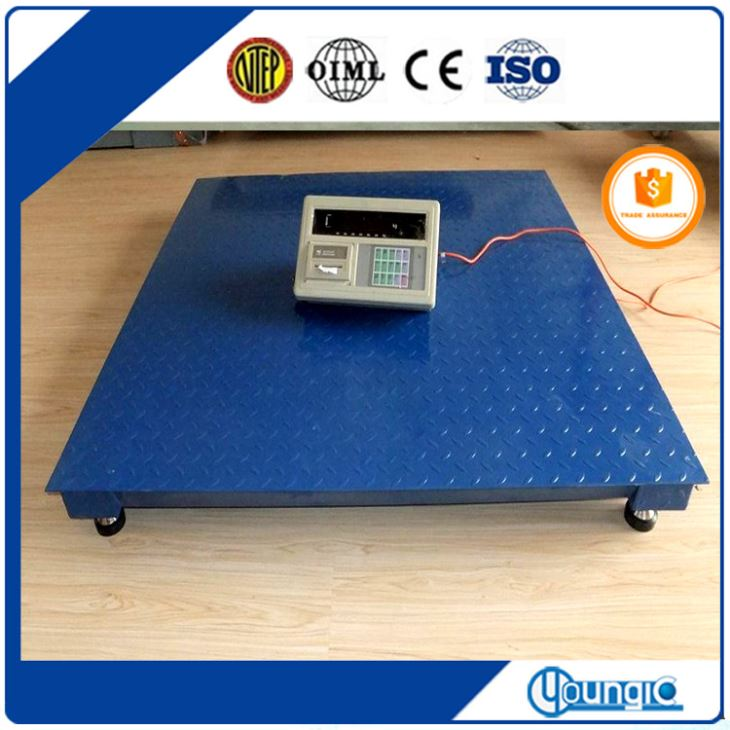 5000 Lb Electronic Platform Electronic Floor Weight Scale China Manufacturing