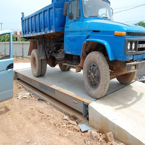 20 Ton Mobile Weighing Pit Truck Scale