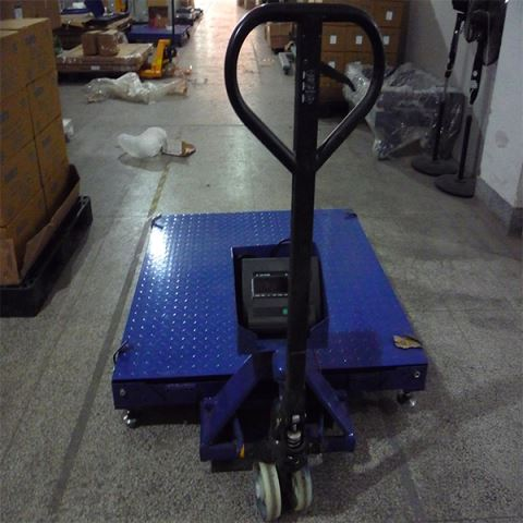 80 Ton Digital Weighing Platform Floor Scale