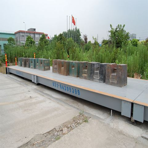 Electronic Pit Weighing Truck Scale