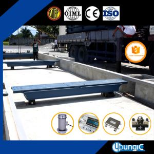 100 Ton Weighbridge Truck Weight Scale for Weighing Truck