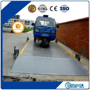 80 tons electronic industrial weighbridge weighing systems