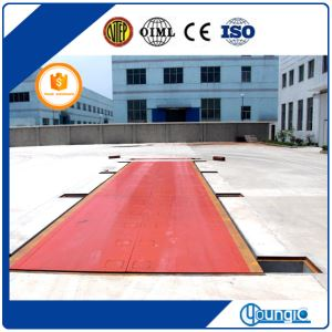 100t unmanned weighbridge
