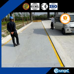 unmanned 100ton digital weighbridge scale