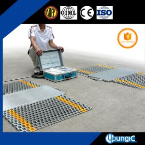 Electronic Portable Truck Axle Wheel Pad Weiging Scale