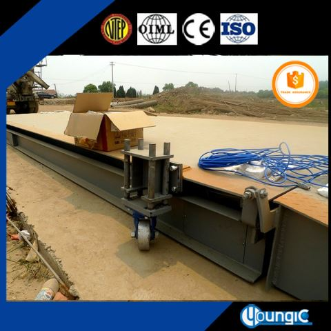 100 Ton Convenient Digital Truck Weighbridge Scale Factory Price