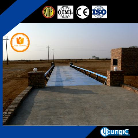 100 Ton Electronic Pitless Truck Weighbridge Scale No Pit Weighbridge Factory Export
