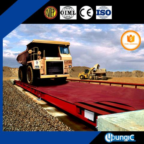 100 Ton Industrial Mettler Toledo Truck Scale Weighbridge Chinese Manufacturers