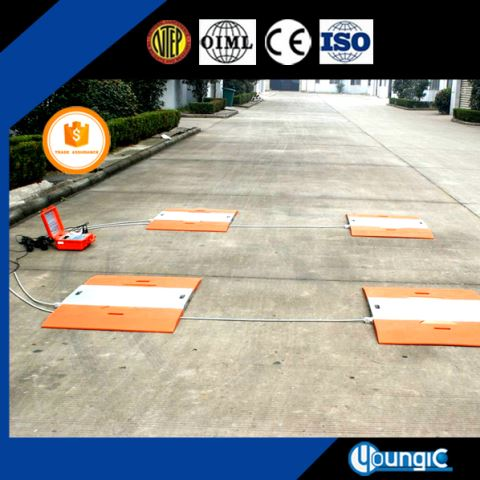 60 Ton Convenient Truck Electronic Axle Scale Manufacturing