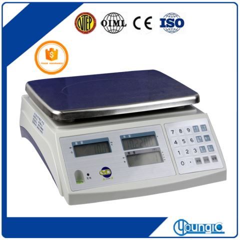 China 30KG Electronic Bluetooth Table Weighing Scale Factory Export