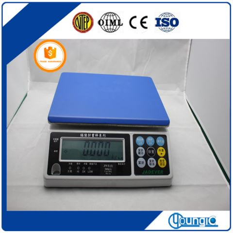 China 30KG Safe Table Weight Scales Manfacturers Best Price