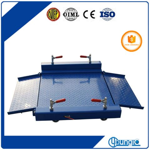 Electronic 5000lb Capacity Scale Floor Long Life For Sale