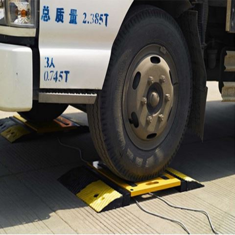 Wireless Portable Weighing Pad Axle Scale