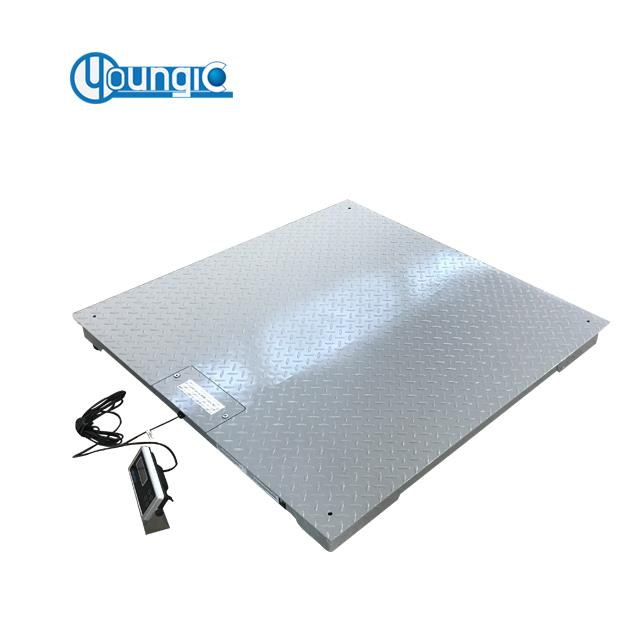 Shanghai 3 Ton Electronic Weighing Floor Scale