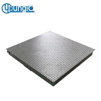 Youngic 3 Ton Digital Stainless Steel Industrial Platform Floor Weighing Scale With Printer Supplier Price