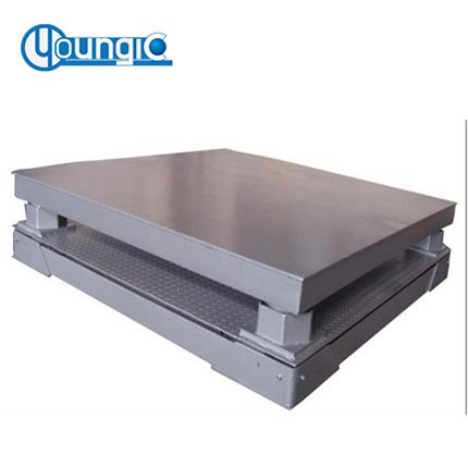 China 3000 Ib Industrial Mechanical Platform Weighing Floor Scale