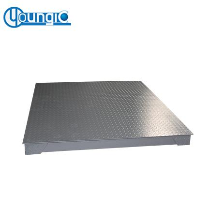 Shanghai 10 Ton Long Life Electronic Platform Floor Weighing Scale Factory Export